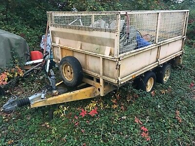 Ifor Williams GD84 Box Trailer - Dual Axle - Galvanised - Ex-Council/Police