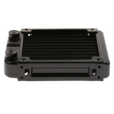 120mm Computer Radiator Water Cooling Cooler for CPU Heat Sink 10Pipes Screw