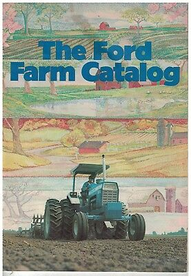 Vintage 1970s The Ford Farm Catlog