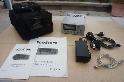🍀 ‡ Focus Enhancements Videonics FireStore FS-1 Portable DTE HDD Recorder Edit