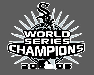 Chicago White Sox  2005 World Series Champions Die-Cut Vinyl Decal
