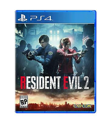 Resident Evil 2 PRE ORDER (Sony PlayStation 4, 2019) PS4 Brand New