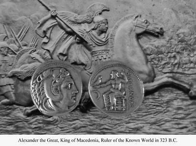 Alexander the Great Percy Jackson books Teen Gift Greek Coins (1-S)