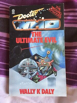 Target books - Doctor Who Missing Episodes - The Ultimate Evil by Wally K Daly