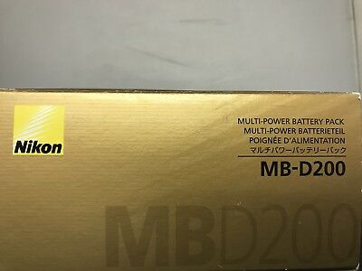 Nikon MB-D200 Multi-Power Battery Pack-NEW-ORIGINAL