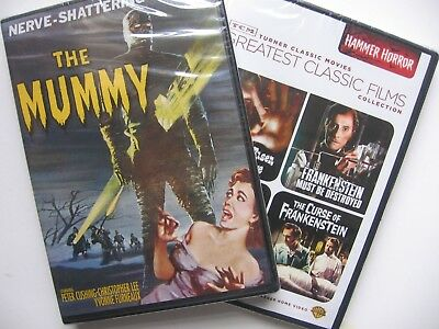 2 New DVDs- TCM Hammer Horror Greatest Classic Films & The Mummy 1959