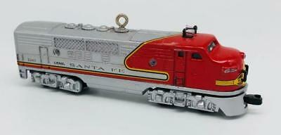 1997 1950 Santa Fe F3 Diesel Locomotive Hallmark Ornament Lionel Train Series #2