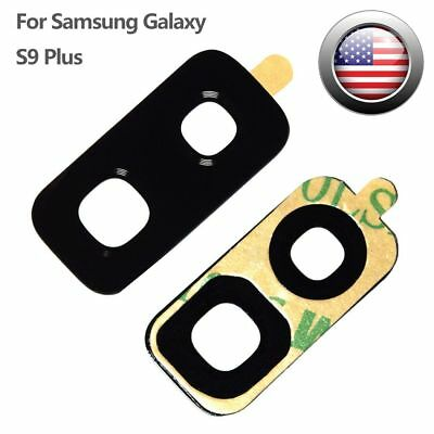 Back Rear Camera Glass Lens Cover Adhesive For Samsung Galaxy S9 Plus S9+ G965