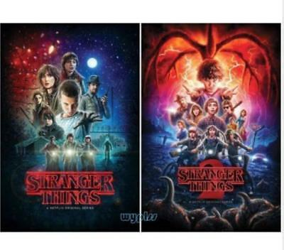 New Stranger Things: The Complete Seasons 1-2 (DVD, 2017, 5-Disc Box Set)
