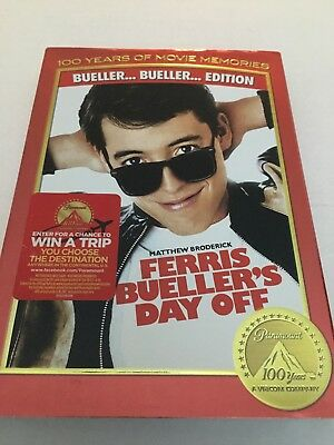 Ferris Buellers Day Off (DVD, 1986) - NEW18