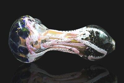 """4.5"""" Collectible Tobacco Smoking Pipe Herb Bowl Glass Hand pipes"""