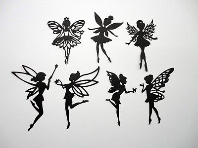 Fairy Die Cut - Pack D - 7 pcs