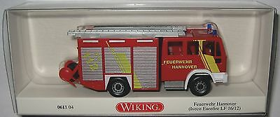 rot #061104 Iveco EuroFire LF 16//12 WIKING Modell 1:87//H0 Feuerwehr Hannover