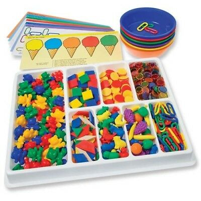 Counting And Sorting Kit 650pcs Maths Teacher Resource Sorting Classroom Large