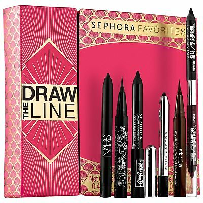 Sephora Favorites ~DRAW THE LINE~ EyeLiner Set NARS KAT VON D MARC JACOBS STILA