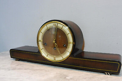 Antique Clock Westminster Chime Table Clock Old Clock Shelf Mantel