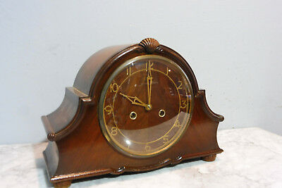 Antique Clock Englisch Table Clock Old Clock Vintage Mantel Clock