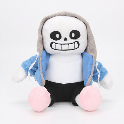 Undertale Sans Plush Stuffed Doll Pillow Hugger Cushion Cosplay Kids Toy Gifts