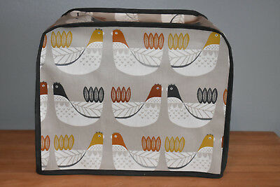 Kenwood Chef Food Mixer Cover Love Birds in oilcloth
