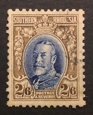 SOUTHERN RHODESIA 1931 2s 6d 2 shillings six [pence  PERF12  SG 26 SG26