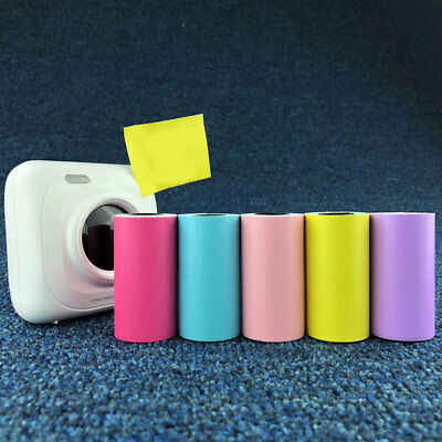 3.6m/Roll 57x30mm Thermal Sticker Printing Paper For Paperang Photo Printer POUR