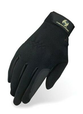 (Size 7, Black) - Heritage Performance Fleece Glove. Heritage Products