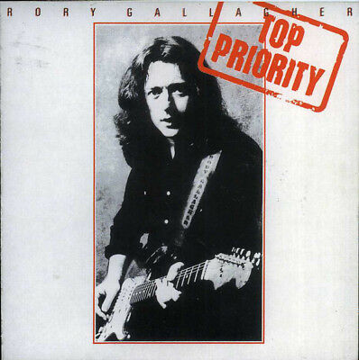 Rory Gallagher - Top Priority - CD Digipak - Very Good Condition