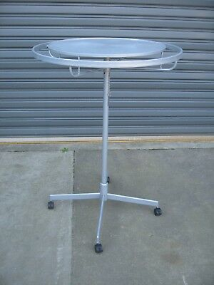 Mobile Round Clothing Rack, Shopfittings Accessory Hangers.