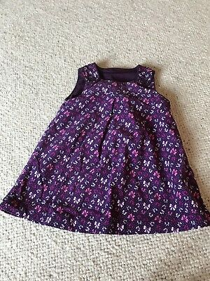 efa5cb10a HM BABY GIRL pinafore dress 9-12 months - £3.00