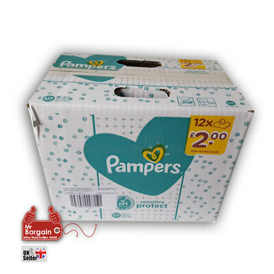 Pampers Sensitive Wipes Multi-Pack Giga 56 wipes in a pack, 1,2,3,6 or12 packs