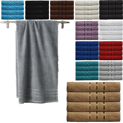 4x Large Jumbo Bath Sheets 100% Egyptian Combed Cotton Big Towels Wow Bargain