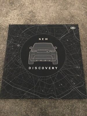 Land Rover New Discovery 5 Hardback Book And 8gb Usb Stick Press Kit