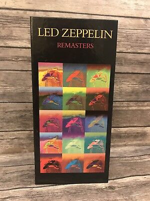 Led Zeppelin Remasters 3-Disc CD Boxset Atlantic 1992 Robert Plant Jimmy Page