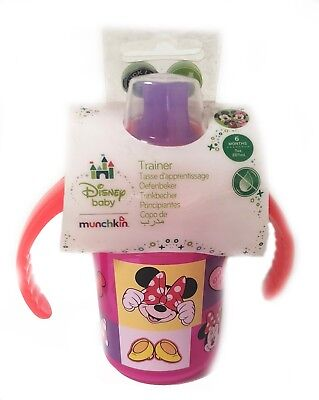 Munchkin Sippy Cup Click Lock Trainer Chew Proof Toddler Baby First Anti Spill