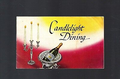 Vintage 1953 Great Western NY Wines, Champagne Candlelight Dining booklet