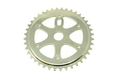40T Chrome Chainring Chainwheel To Fit OPC One Piece Crank Old School BMX