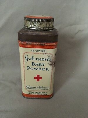 Johnson's Baby Powder 4 1/8 Oz Tin