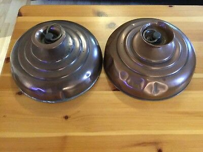 A Pair Of Copper Bed Warmers