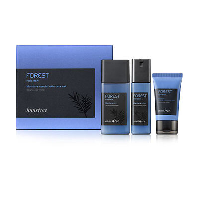 [Innisfree] Forest For Men Moisture Special Skin Care Set 3 Items
