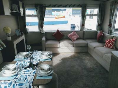 New static caravan holiday home sited South Devon Plymouth Salcombe