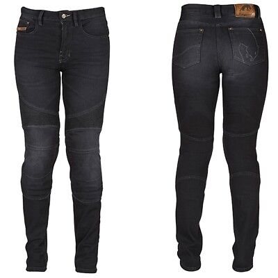 Rusty Stitches Ella Denim Damen Jeans Motorradhose Stretch Abriebfest Bequem Motorcycle Street Gear