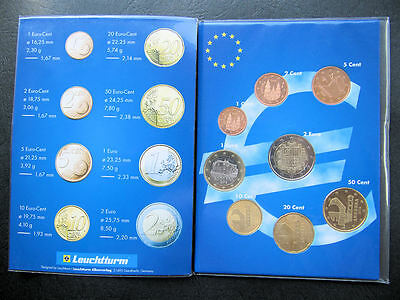 "Andorra KMS 2014 ""1 Cent - 2 Euro"" / 1 + 2 Cent Spanien"