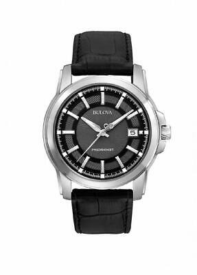 Bulova Men's 96B158 Precisionist Leather Strap Watch
