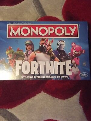 Monopoly Fortnite Edition Board Game Brand New Sealed In Hand