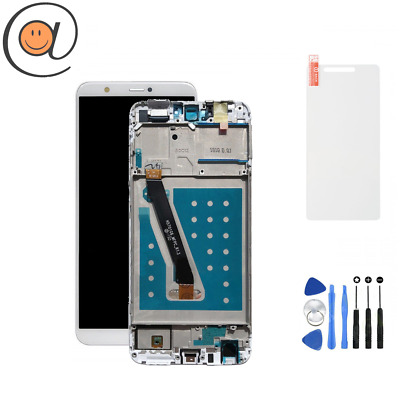 LCD + Ecran tactile Huawei P Smart Noir Châssis FIG-LX1 / Outils / Protection