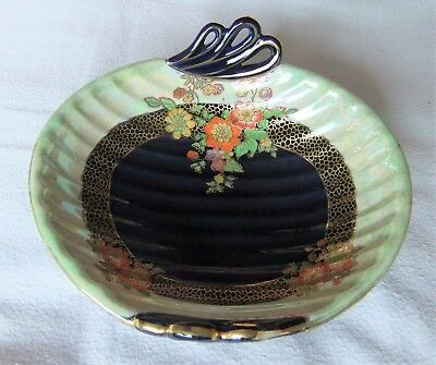 Art Deco Vintage Crown Devon Fieldings  Lustre Bowl