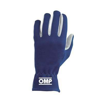 OMP Racing X-Large Blue Single Layer Rally Driving Gloves IB702BXL