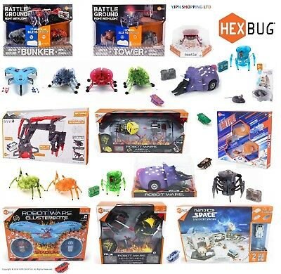 Hex bug  Beetle, Spider, Robot Wars, Tower Sets, Discovery Station, RoboticToys!