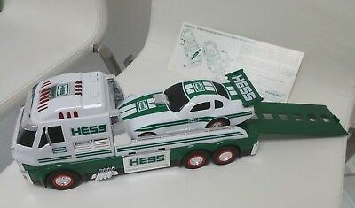 Hess Collectible Toy Truck and Dragster 2016 with sounds and led lights ~new