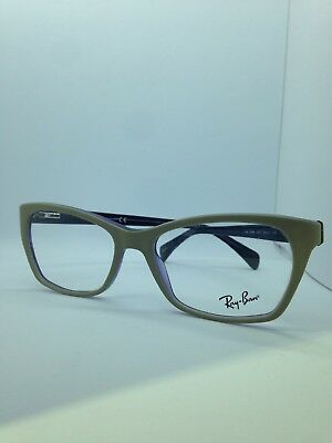 19e82044a6537 New Authentic Ray Ban Eyeglasses Rb 5298 5387 Beige violet 55-17-140